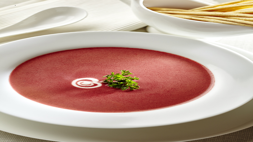 BEETROOT TOMATO SOUP