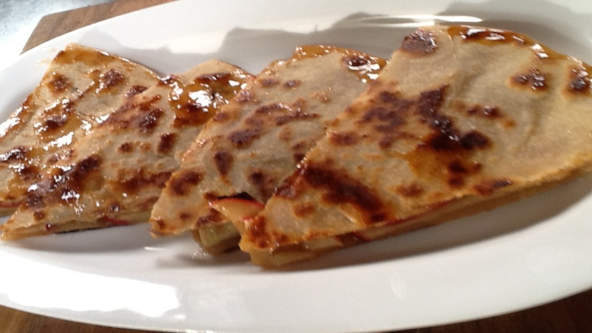 apple parantha