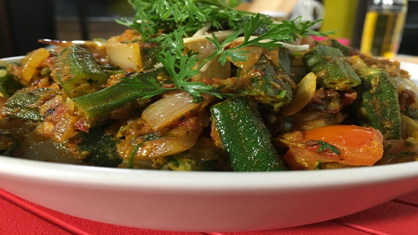 bhindi do pyaaza