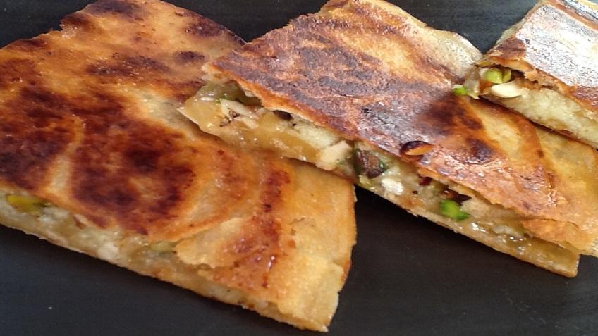 jaggery mawa sandwich