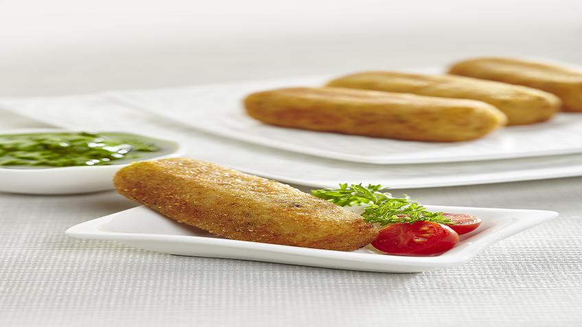 potato mozzarella crouquettes