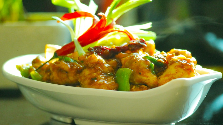 punjabi chilli chicken