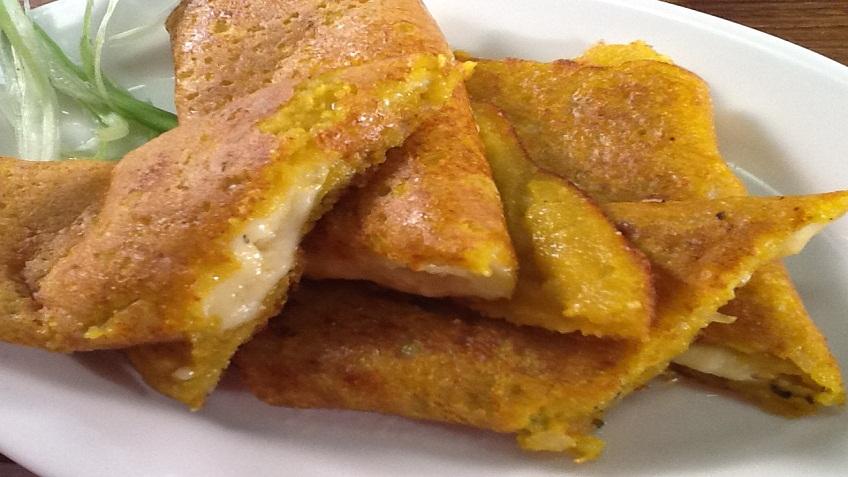 rice and moong dal pancakes
