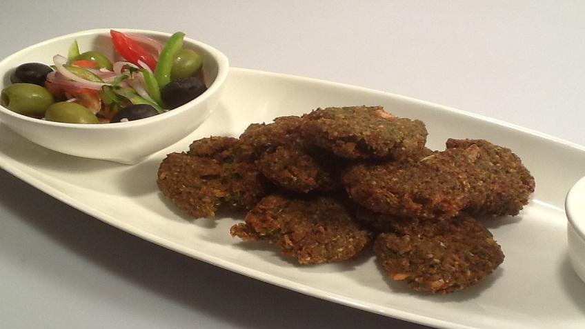 soya falafel