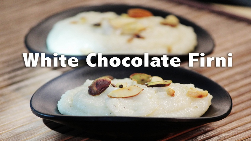 white chocolate phirni