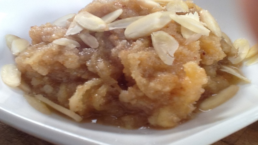 APPLE BADAM HALWA