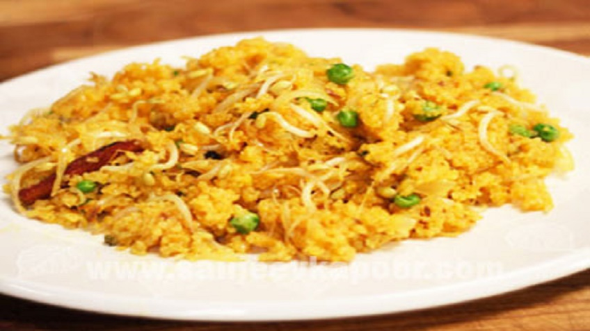 Broken_Wheat_Bean_Sprouts_Pulao