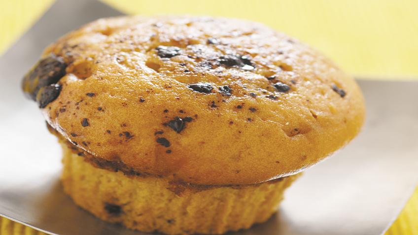 Orange And Choco-Chip Muffins