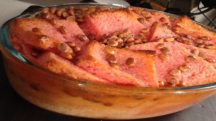 rose langanu custard