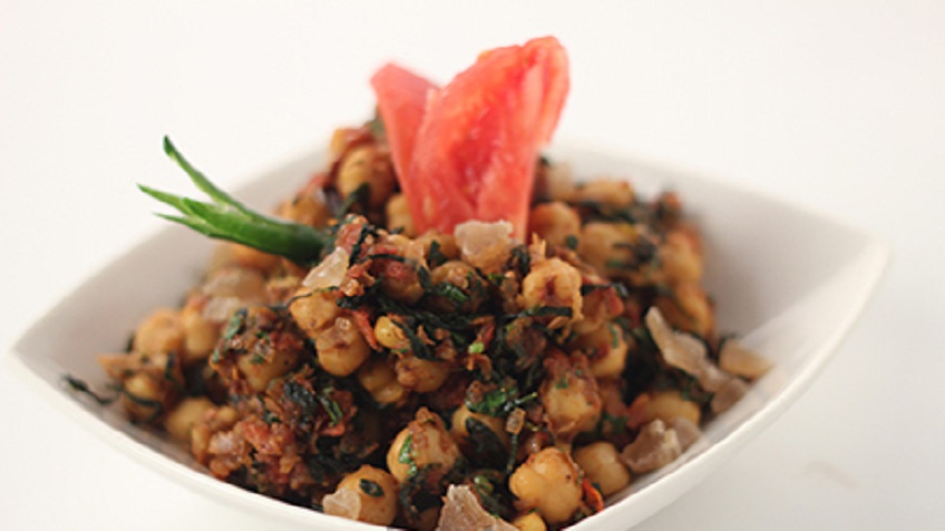 Methi_Chole