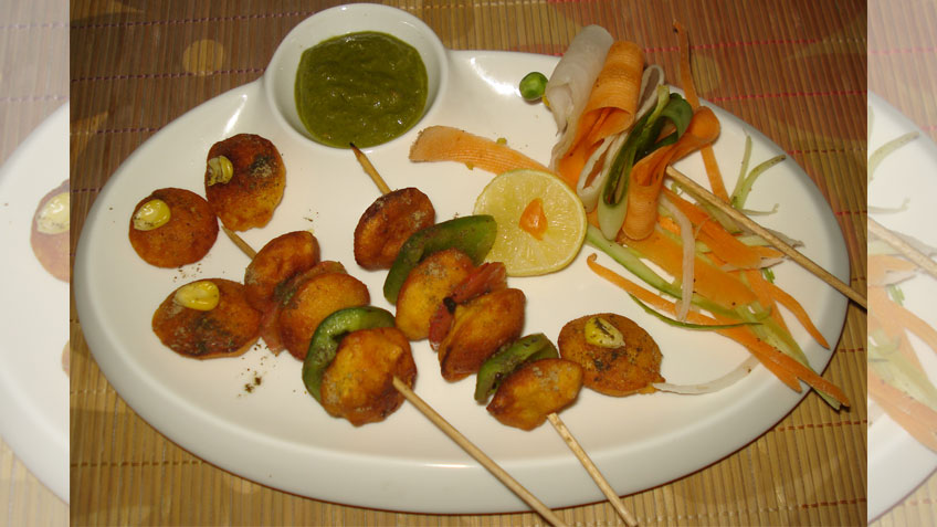 Corn Button Pakora