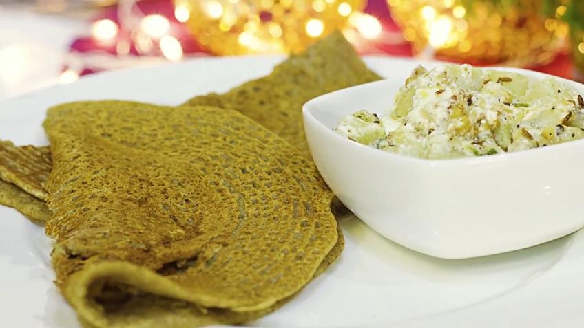 Kuttu aur Sabudana Pancake
